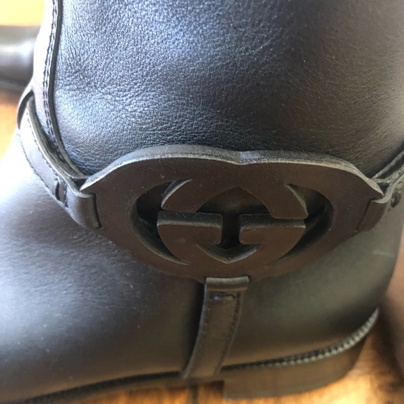 519a0fdbf Gucci Shoes - GUCCI: Authentic Gucci Leather Riding Boots